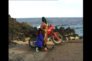 Sexy indian gf motorcycle rider humps..